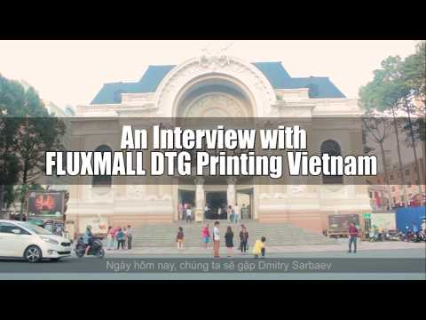 Garment Printing Industry in Vietnam | DTG Printing for AO Show