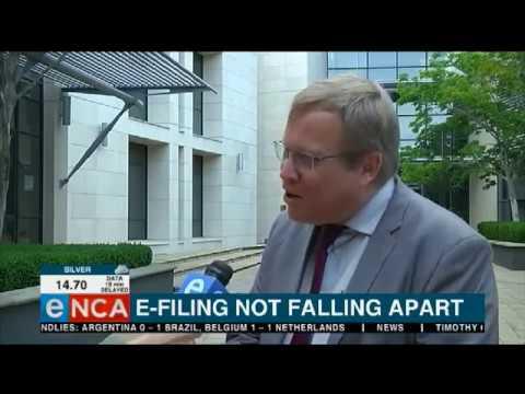 #SARS e-filling not falling apart