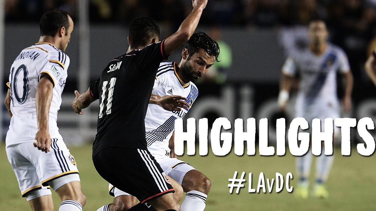 the best attitude 8356d bf711 HIGHLIGHTS: LA Galaxy vs DC United | August 27, 2014