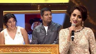 Sathish And Dhanya Making Fun Of Trisha