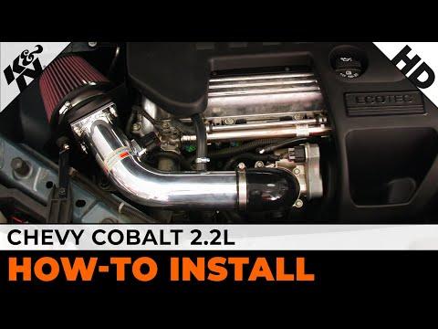 2005 - 2010 Chevrolet (Chevy) Cobalt 22L Air Intake Installation