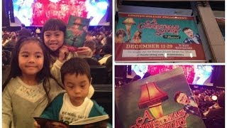 A Christmas Story the Musical in NYC
