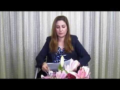 Vian Dakhil receives 2014 Anna Politkovskaya Award - YouTube