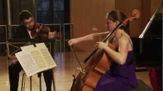 Trio Gaspard   M. Ravel: Klaviertrio a-Moll / Piano Trio in A minor