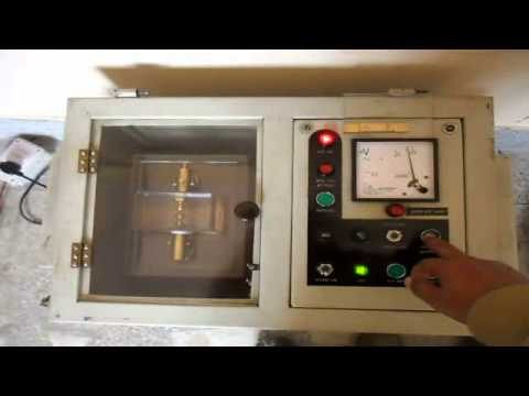 Break Down Voltage test of transformer Oil - YouTube