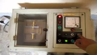 break down voltage test of transformer oil