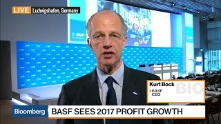 BASF CEO Sees Good Growth in Asia in 2017