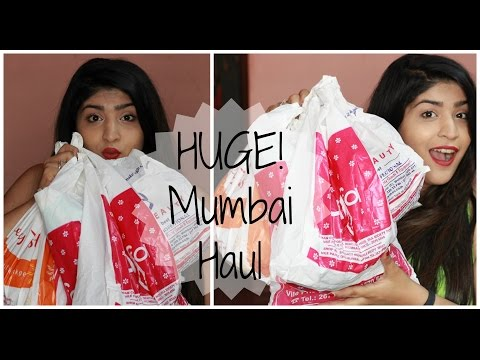 HUGE Mumbai Makeup And Fashion Haul | Linking Road, Alfa, Colaba Causeway And More!