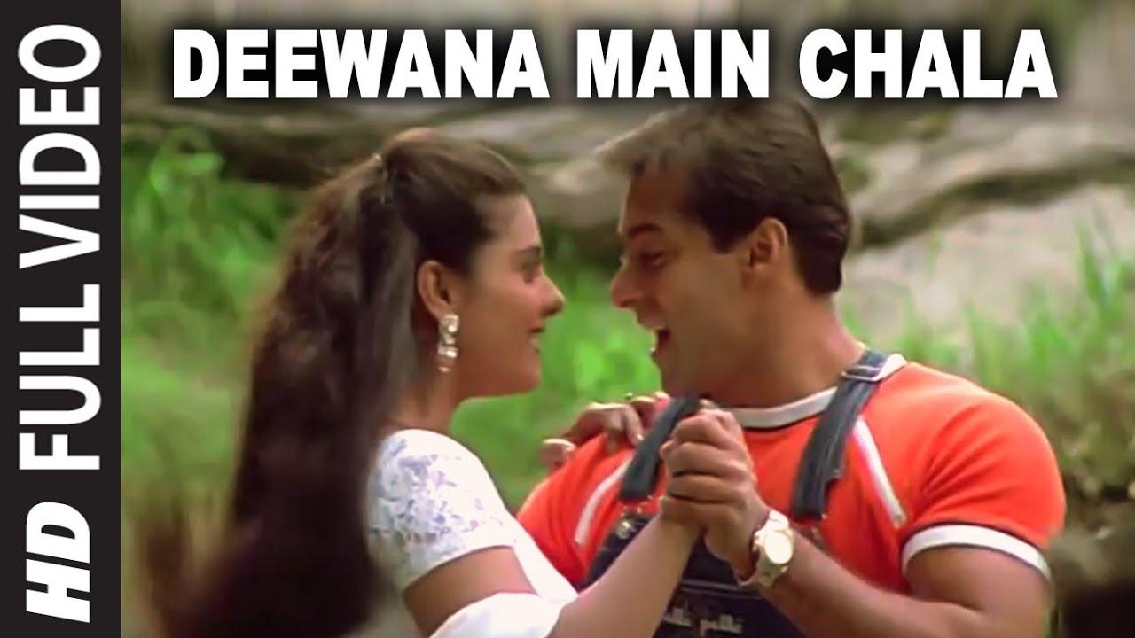 Download Deewana Main Chala [Full Song]   Pyar Kiya To Darna Kya   Salman Khan, Kajol
