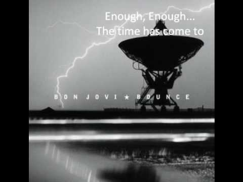 Bon Jovi undivided lyrics