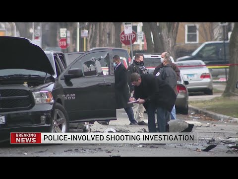 Man critically wounded in West Side shooting that was witnessed by officers, police say