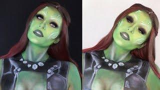 GAMORA - SFX Makeup Tutorial