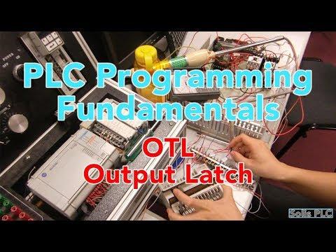 Ladder Logic Programming Basics - OTL & OTU | Output Latch