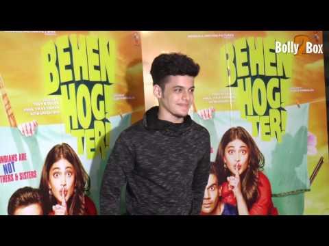 Darsheel Safary At Behen Hogi Teri Movie Special Screening