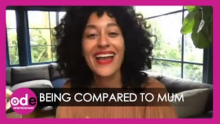THE HIGH NOTE: Tracee Ellis Ross on Being Compared To Mum Diana Ross