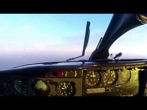 Approche à Vue Isle de Man - PA31 Chieftain - Cockpit View - Full HD (1080p)