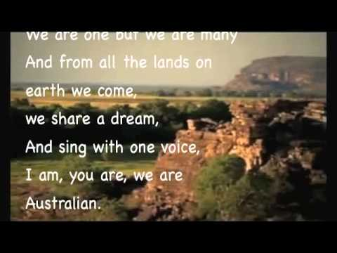 I am Australian karaoke version