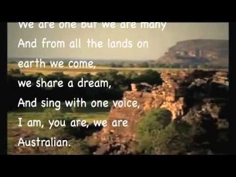 I am Australian karaoke version