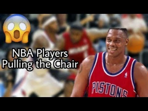 NBA Players Pulling the Chair Compilation