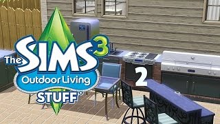 """The Sims 3 Outdoor Living Stuff [2] """"A Touch Up"""""""