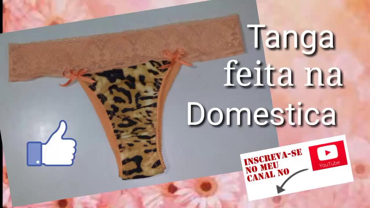 62ef89d76 Tanga feita na Máquina Doméstica