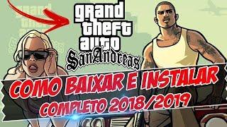 Como Baixar e Instalar GTA San Andreas - PC 2019 Completo em [PT-BR]