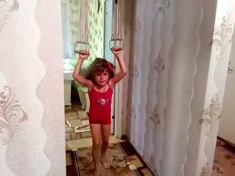 гимнастика на кольцах