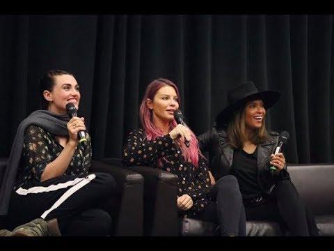 Armageddon Expo Women of DC Panel with Katie McGrath, Lauren German, and Lesley-Ann Brandt