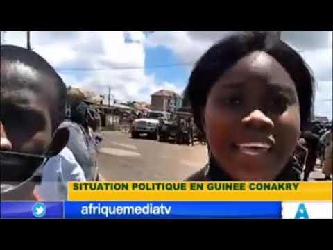 URGENT SITUATION EN GUINEE: LES POPULATIONS MANIFESTENTS CONTRE LA CEDEAO ET LES SANCTIONS