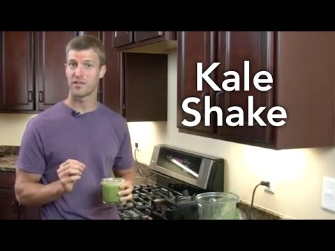 How to Make a Kale Shake-Transform Your Kitchen-Episode #8
