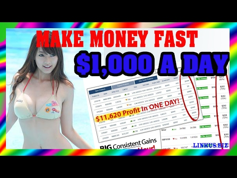 How To Make Money Online Fast – Work From Home Jobs $1,000 Per Day