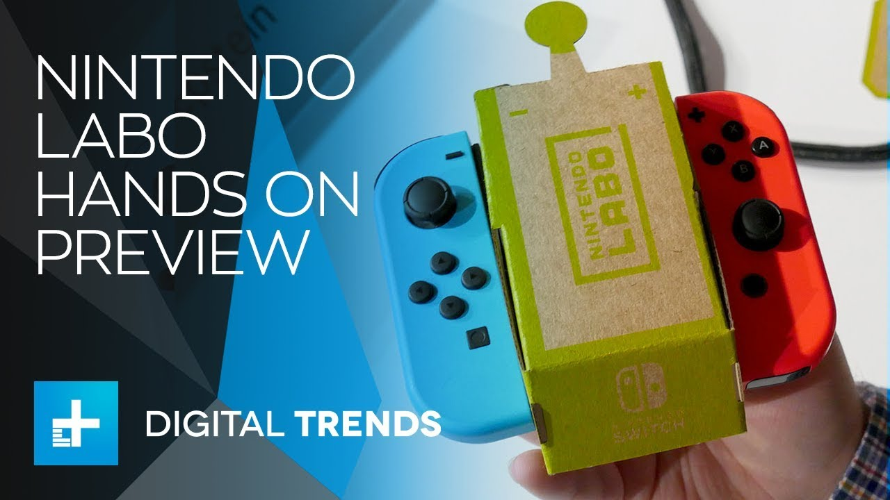 Nintendo Labo – Hands On Preview