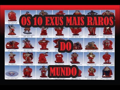 OS 10 EXUS MAIS RAROS DO MUNDO