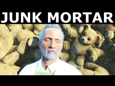 Fallout 4 Junk Mortar (Contraptions Workshop DLC) |