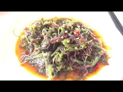 Qingdao Fu Sheng restaurant tasty Sea Weed platter