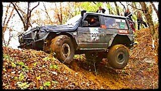 █ Nissan Patrol vs Land Rover Defender // Осенний внедорожник.