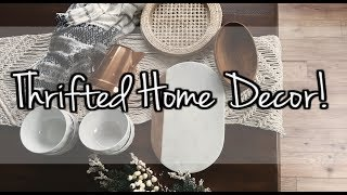 2019 Thrifted Home Decor Haul  | Modest clothing haul