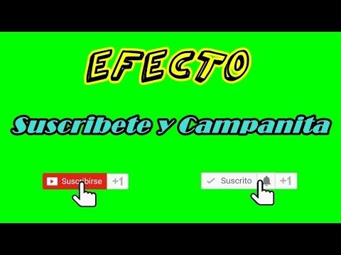 Pantalla Verde / Green Screen Suscribete y Campanita   Tips de Redes Sociales