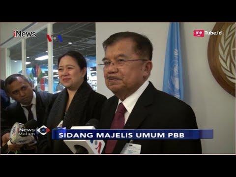 Jusuf Kalla Puji Pidato Donald Trump di PBB yang Mengundang Reaksi Tak Terduga - iNews Malam 26/09