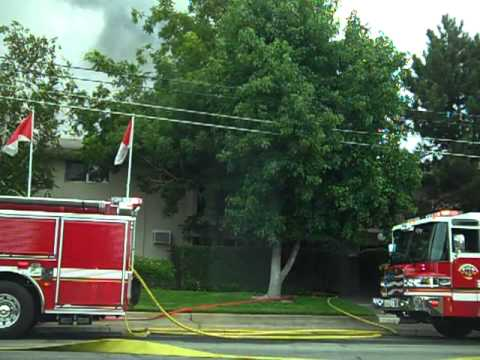El Camino Apartment Fire Save - Sacramento Metro Fire.MP4