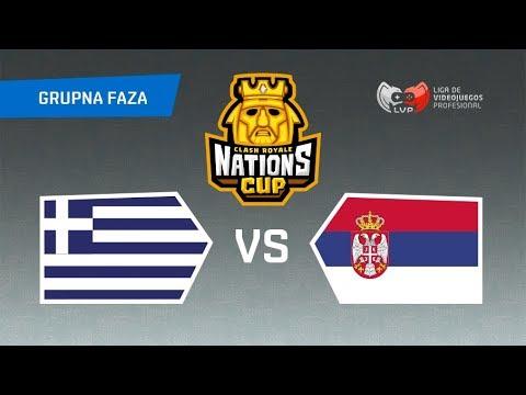 CLASH ROYALE KUP NACIJA - SRBIJA vs GRČKA (18h)