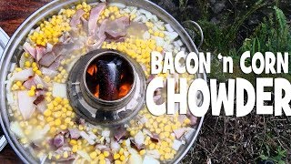 Easy Bacon and Corn Chowder