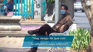 El subsecretario de Salud, Hugo López-Gatell, advirtió que las nuevas medidas se aplicarían a manera de prevención de rebrotes de Covid-19