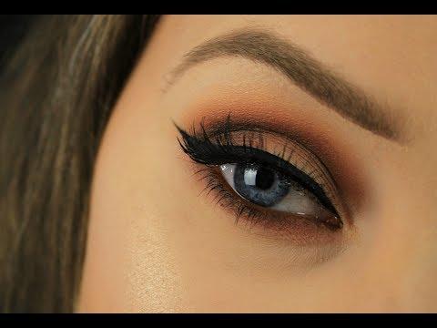 Wearable Autumn Makeup | Kat Von D Shade + Light Eyeshadow Palette