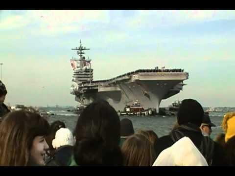 USS George H.W. Bush Homecoming