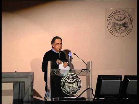 Sergio Marchionne | LH in Ingegneria Gestionale