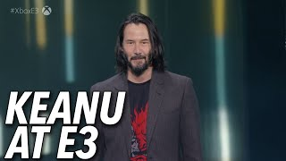 Keanu Reeves Reveals Cyberpunk 2077 Release Date At E3 2019