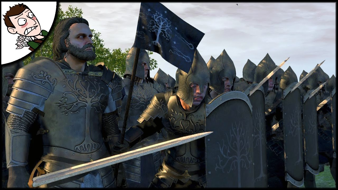 Gondor Marches To War! Rise of Mordor Total War Mod Alpha Multiplayer  Gameplay