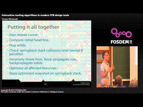 FOSDEM 2015 - Developer Room - Electronic Design Automation - Cb Routin