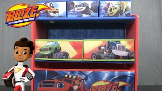 Blaze and the Monster Machines Multi-Bin Toy Organizer from Delta Children's Products